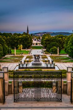Frogner Park in Oslo #Travel #Norway