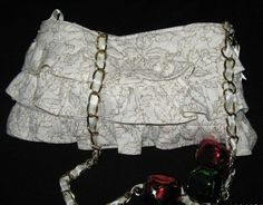 Handmade  Eye Candy Handbag /  Frilled for Fun /  by Divadezines, $34.00