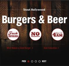 Stout Burgers & Beers - better Truffle Burger than Umami