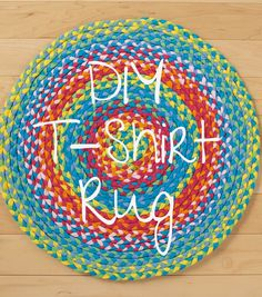 DIY T-Shirt Rug | Learn how to make your own rug! Find rug ideas from @joannstores
