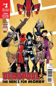 Here's your first look at Deadpool and The Mercs For Money by writer Cullen Bunn and artist Iban Coello, on sale October 2016 from Marvel Comics. Marvel Comics, Ms Marvel, Domino Marvel, Comic Book Characters, Marvel Characters, Comic Books Art, Book Art, Dead Pool, Univers Marvel