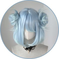 Professional quality wigs for cosplay, anime, game, manga, lolita and casual wear ^c^ Kawaii Hairstyles, Pretty Hairstyles, Wig Hairstyles, Cosplay Hair, Cosplay Wigs, Kawaii Wigs, Lolita Hair, Anime Wigs, Hair Reference