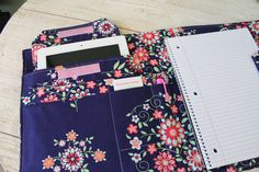 Spiral Notebook Organizer someone show me how to make this plz I'm a meat freak and I need this.