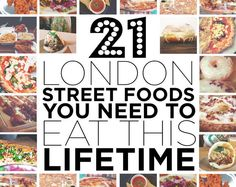 It's no secret that London has endless things to eat. | What's The Best Thing To Eat In London For Under A Tenner