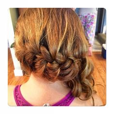 awesome vancouver wedding Loose braided side pony for this bridesmaid. #braids #braidsfordays #braidstyles #vancouverhair #vancouverhairstylist #mission #fortlangley #sidepony #sideponytail #curls by @gemshairandmakeup  #vancouverwedding #vancouverweddinghair #vancouverwedding