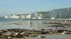 This is one of my favourite places in England if not the World! Whenever I return to the UK I  try to fit in a walk in this beautiful area which is part of the South Downs National Park. I have taken many photos of this area but none are so delightful as this view of Seven Sisters from Birling Gap © Georgia Connely http://www.nationaltrust.org.uk/birling-gap-and-the-seven-sisters/#