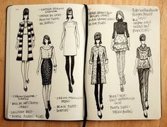 I want a book for all my fashion illustrations