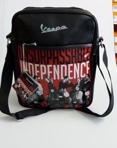 93a613f8ed Vespa  Unsurpassable Independence  (Official Licensed product) Messenger Bag.  Perfect for toting