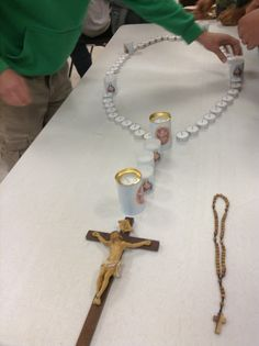 Candle Rosary for Confirmation Class