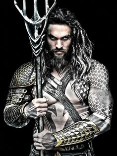 Gone cold: This promo poster of Jason Momoa as Aquaman was released months ago, but he hasn't been seen in the role since