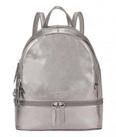 !!!Metallicrucksack Liebeskind Berlin AlitaC20 silber beschichtet Men's Backpack, Leather Backpack, Silver Backpacks, Material, Metallic, Bags, Design, Products, Leather