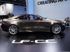 Lexus LF-CC  Sexy ass ride :-)