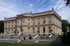 The Elms... Newport, Rhode Island. The estate was constructed from 1899 to 1901 and cost about 1.5 million dollars to build.