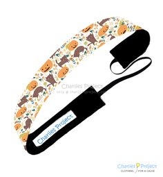 Fall Cats - 1 inch Non-Slip Headband - Charlies Project Headbands for a Cause