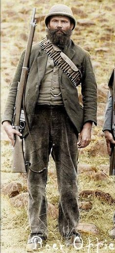 Boer, circa 1899. African Culture, African History, Safari, War Novels, Imperial Army, German Uniforms, World Of Darkness, Army Uniform, British Colonial