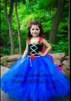 Frozen Anna Tutu Dress, Princess Anna Tutu Dress