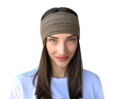Cashmere Hat, Cashmere Color, Warm Headbands, Headbands For Women, Knitted Headband, Knitted Hats, Scarf Jewelry, Elegant Outfit, Ear Warmers