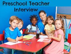 Sample preschool teacher interview questions with impressive example interview answers. Learn important teacher interview tips and techniques and come across as the best job candidate. Teacher Interview Questions, Teacher Interviews, Interview Questions And Answers, Job Interviews, Education Quotes For Teachers, Education College, Childhood Education, Makassar, Children's Day Activities