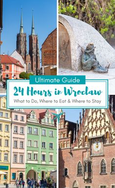 Planning a trip to the fairytale city of Wrocław, Poland? Be ready to fall in love! Here's the ultimate guide on how to spend 24 hours in Wroclaw, Poland; what to do, where to eat as a vegan, and where to stay. | #wroclaw #poland #polandtravel #itinerary #wroclawitinerary #travel #wroclawtravel #vegantravel #vegan