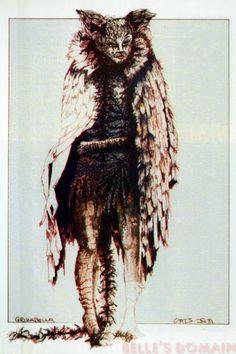 Grizabella costume design - Broadway, 1982