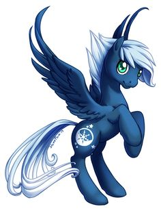 Im Frostbite,Im 18 and I love ice and snow,I live near the snow mountains in some snow castle.My wings have snow powers,as you see they are very big,I only need to flap once very strong and I can freeze all I want,I lost my family scince I was a filly