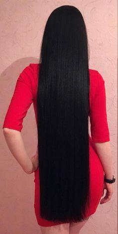 Online Buy Peruvian Straight Hair 3 Bundles With Closure Rabake Hair Original Peruvian Human Hair Bundles With Closure,factory cheap price with store coupon DHL worldwide shipping. Beautiful Long Hair, Gorgeous Hair, Long Dark Hair, Thick Hair, Natural Hair Styles, Long Hair Styles, Super Long Hair, Silky Hair, Smooth Hair