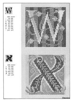 Zweigart Celtic alphabet 14