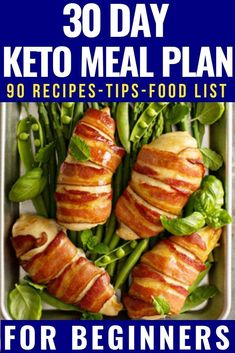 Easy Keto For Beginners + Free 30 Day Meal Plan Looking for keto diet tips for beginners? Check out this easy free meal plan and shopping list for beginners! With 90 ketogenic diet recipes for breakfast, lunch, dinner, and snacks this is the perfect Diet Plan Menu, Diet Meal Plans, Meal Prep, Free Keto Meal Plan, Keto Diet For Beginners, Recipes For Beginners, Lunches And Dinners, Meals, Keto Food List