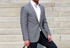 """J. Crew Factory """"Slub Linen"""" Suit Jacket 