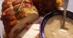 Meat Recipes, Mashed Potatoes, Pork, Food And Drink, Bacon, Dishes, Cooking, Ethnic Recipes, Whipped Potatoes