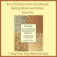 I first learned about soaking grains for optimum nutrition and easy digestibility from Sally Fallon's book, Nourishing Traditions. Dairy Free Eggs, Gluten Free Grains, Egg Free, Gluten Free Recipes, Gluten Free Sourdough Bread, Sourdough Pancakes, Kefir Recipes, Nourishing Traditions, Water Kefir