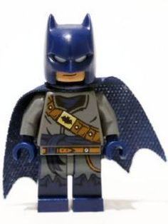 LEGO DC Super Heroes Batman Minifigure Mini Fig Black Boots 76046