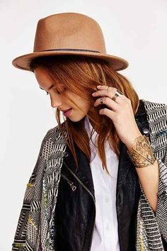 Felt Slouch Fedora - Urban Outfitters