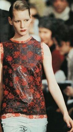 Collection Séance de Travail Fall-Winter 1994-1995, Helmut Lang   Kirsten Owen