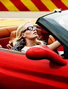Red car adventure