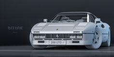 Ferrari 288 GTO/1984 on Behance