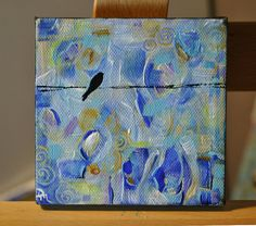 """""""Spring Sonnet"""" by Dana Marie - Acrylic Painting $45"""