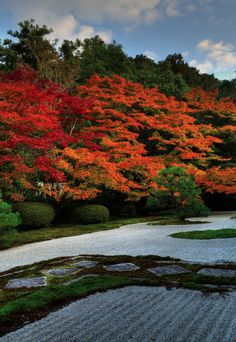 Rock garden at Nanzen-ji temple, Kyoto, Japan