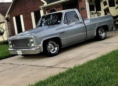 Lowrider Trucks, C10 Trucks, Chevy Pickup Trucks, Chevy Pickups, Chevrolet Trucks, Chevy S10, 1985 Chevy Truck, Chevy Trucks Lowered, Custom Chevy Trucks