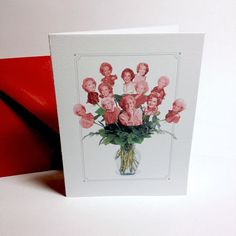 Bouquet Of Roses Card | 23 Golden Girls Gifts To Say Thank You For Being A Friend
