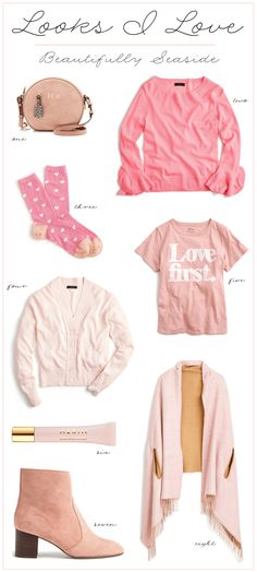 LOOKS I LOVE // PINK STYLES   A $150 GIVEAWAY
