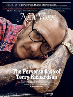 Terry Richardson Covers New York Magazine, June 2014