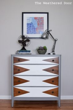 mod triangle dresser   from The Weathered Door wd-1