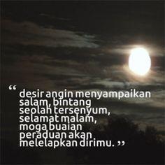 Gambar Kata Kata Ucapan Selamat Malam