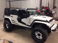 Cj Jeep, Jeep Mods, Jeep Cj7, Jeep Rubicon, Jeep Wrangler Jk, Jeep Wrangler Unlimited, Hummer Truck, Jeep Truck, White Jeep