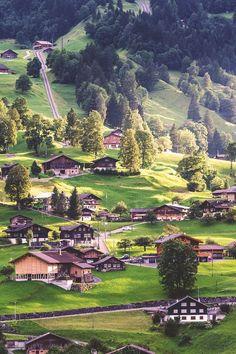 Village, Grindelwald, Switzerland | Tom Wilkason..