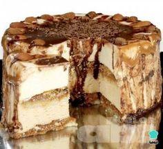 Coffee Carlota cake step by step - Easy - Coffee Carlota Cake Recipe - Great Desserts, Delicious Desserts, Dessert Recipes, Yummy Food, Poke Cakes, Cupcake Cakes, Mexican Food Recipes, Sweet Recipes, Gingerbread Cake