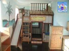 Surf S Up Surf Decor Tiki Hut Bamboo Bed This Is Too