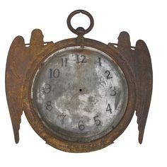 Early Clock Sign  U.S.  19th century