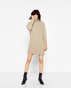 ROLL NECK MAXI DRESS-Turtlenecks-KNITWEAR-WOMAN | ZARA United States